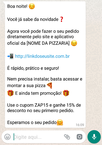 whatsapp business - resposta automática