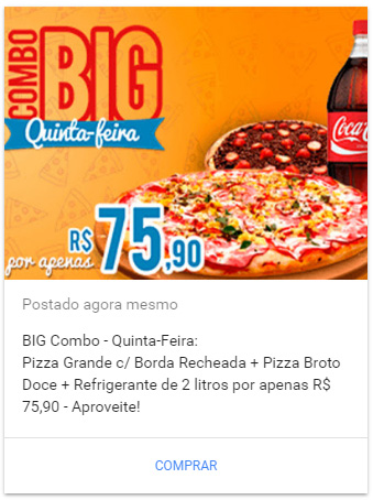 google-post-promocao-pizzaria
