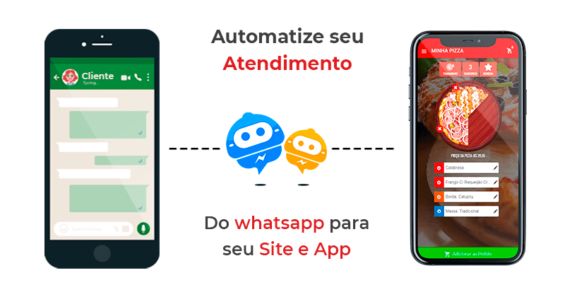 automatize o atendimento de pedidos via whatsapp